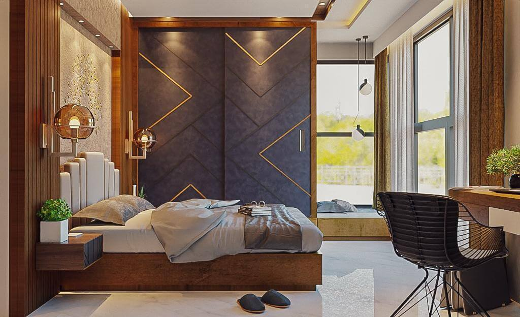Bedroom Interiors in Hyderabad